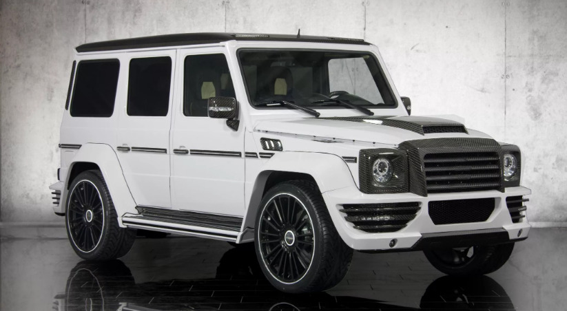 Тюнинг Mansory G-Class : G-COUTURE - full carbon kit upgrade